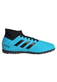 Adidas - Buty dla dzieci do piłki nożnej adidas Predator 19.3 TF G25803. Zapięcie: zamek. Materiał: guma, syntetyk. Szerokość cholewki: normalna. Sport: piłka nożna