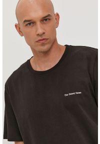 Czarna bluzka The Classy Issue z nadrukiem, casualowa