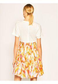 iBlues Sukienka codzienna Scorza 76210302 Biały Regular Fit. Okazja: na co dzień. Kolor: biały. Typ sukienki: proste. Styl: casual #4