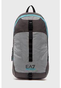 EA7 Emporio Armani - Plecak. Kolor: szary