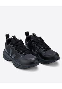 Veja - VEJA - Czarne sneakersy z logo Venturi. Kolor: czarny. Materiał: materiał, guma. Technologia: Venturi (Schöffel). Wzór: aplikacja