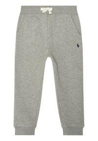 Polo Ralph Lauren Spodnie dresowe Core Replen 322720897004 Szary Regular Fit. Kolor: szary. Materiał: dresówka