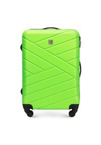 Zielona walizka Wittchen elegancka