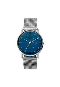 Srebrny zegarek Skagen casualowy