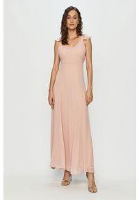 Sukienka Vila maxi, na ramiączkach, rozkloszowana