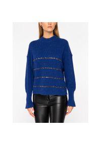 Niebieski sweter The Kooples