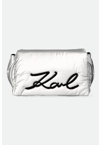 Karl Lagerfeld - TOREBKA KARL LAGERFELD. Wzór: aplikacja. Dodatki: z aplikacjami. Rodzaj torebki: na ramię