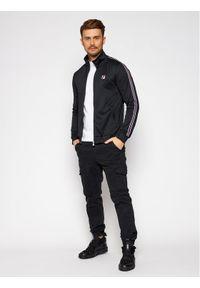 Fila Bluza Salih 687848 Czarny Regular Fit. Kolor: czarny