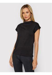 4f - 4F T-Shirt H4L21-TSD038 Czarny Regular Fit. Kolor: czarny