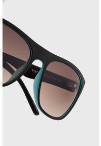 Uvex - Okulary przeciwsłoneczne Lgl 26. Kolor: czarny