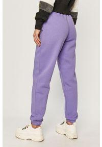Fioletowe spodnie dresowe Reebok