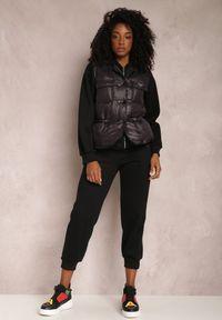 Renee - Czarny Komplet 3-Częściowy Phaeleina. Kolor: czarny. Materiał: dresówka