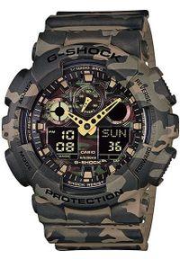 Brązowy zegarek Casio