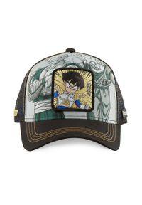 Wielokolorowa czapka z daszkiem CapsLab z aplikacjami