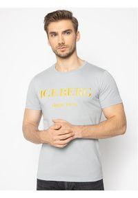 Iceberg T-Shirt 20EI1P0F0146331 Szary Regular Fit. Kolor: szary