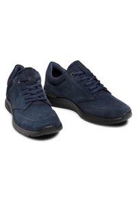 ecco - ECCO Sneakersy Irving 51173451313 Granatowy. Kolor: niebieski