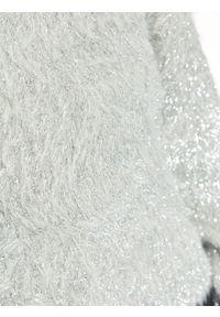 Szary sweter TOP SECRET casualowy, długi