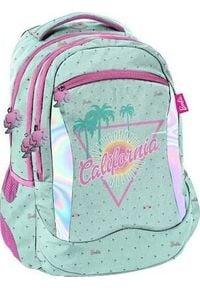 Paso Plecak szkolny Barbie California zielony (BARC-2808/16). Kolor: zielony