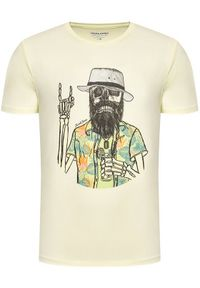 Jack & Jones - Jack&Jones T-Shirt Daays 12188286 Żółty Regular Fit. Kolor: żółty