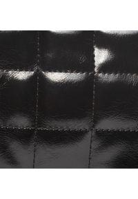 DeeZee - Torebka DEEZEE - RC18371 Black. Kolor: czarny. Materiał: skórzane. Styl: elegancki