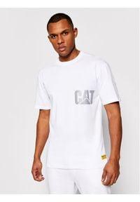 CATerpillar T-Shirt 2511548 Biały Regular Fit. Kolor: biały