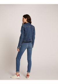 Niebieska kurtka jeansowa Morgan