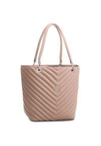 Różowa torebka klasyczna Eva Minge klasyczna