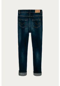 Niebieskie jeansy Kids Only z podwyższonym stanem #3