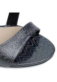 Srebrne sandały Maccioni klasyczne