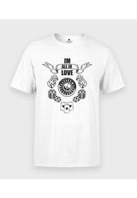MegaKoszulki - Koszulka męska All in Love. Materiał: bawełna
