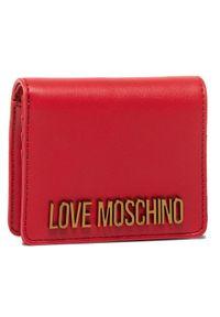 Czerwony portfel Love Moschino