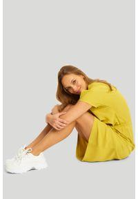 Greenpoint - Wiskozowa sukienka z troczkiem. Materiał: wiskoza #1