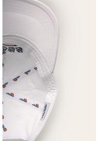 Biała czapka z daszkiem Ellesse z aplikacjami