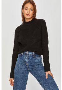Czarny sweter Answear Lab na co dzień, wakacyjny, długi