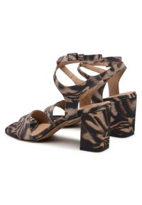 Brązowe sandały Edeo