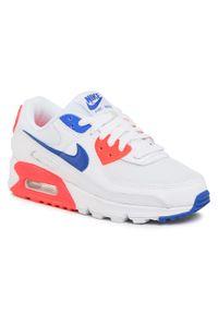 Białe buty sportowe Nike Nike Air Max, z cholewką, na co dzień