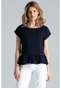 Niebieska bluzka Figl na lato