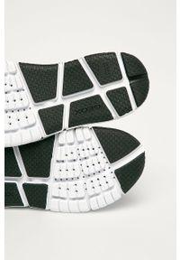 Buty sportowe Geox z okrągłym noskiem, na rzepy