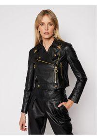 Czarna kurtka przejściowa Versace Jeans Couture