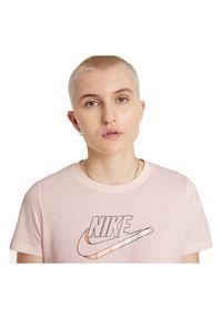 Koszulka damska Nike Tee Futura DJ1820. Materiał: bawełna, tkanina