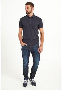 Koszulka polo Armani Exchange sportowa, polo, z nadrukiem