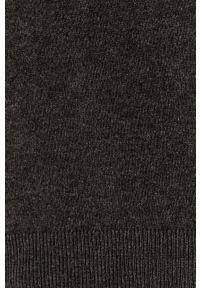 Szary sweter medicine melanż, na co dzień, casualowy, z długim rękawem