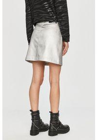 Calvin Klein Jeans - Spódnica. Stan: podwyższony. Kolor: szary