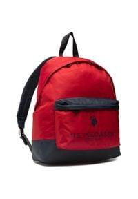 U.S. Polo Assn - Plecak U.S. POLO ASSN. - New Bump Backpack Bag Nylon BIUNB4855MIA260 Navy/Red. Kolor: czerwony. Materiał: materiał