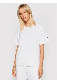 Champion T-Shirt 114194 Biały Regular Fit. Kolor: biały