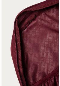 Fioletowy plecak Puma z nadrukiem