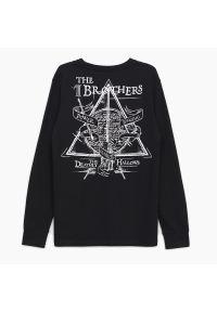 Cropp - Koszulka longsleeve Harry Potter - Czarny. Kolor: czarny. Długość rękawa: długi rękaw