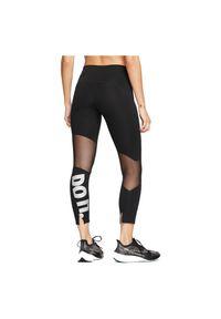 Legginsy damskie do biegania Nike 7/8 Icon Clash CJ1932. Materiał: materiał, skóra, nylon, poliester, elastan. Technologia: Dri-Fit (Nike). Sport: fitness