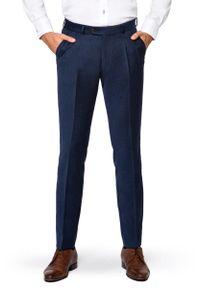 Niebieskie spodnie Lancerto długie, vintage