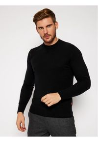 Czarny sweter klasyczny Woolrich